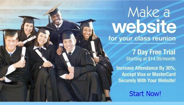 Build A Class Reunion Website Banner