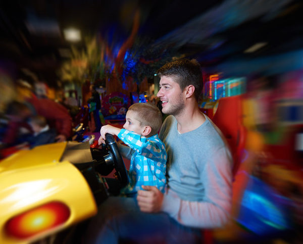 Theme Park Family Reunions